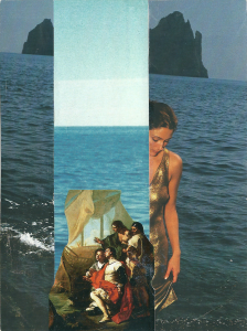 Enea Roversi - Collage formato cartolina