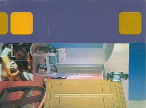 Enea Roversi – Senza titolo (collage su cartoncino)